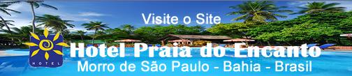 Hotel Praia do Encanto em Morro de São Paulo