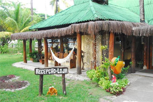 Recepção Hotel Praia do Encanto